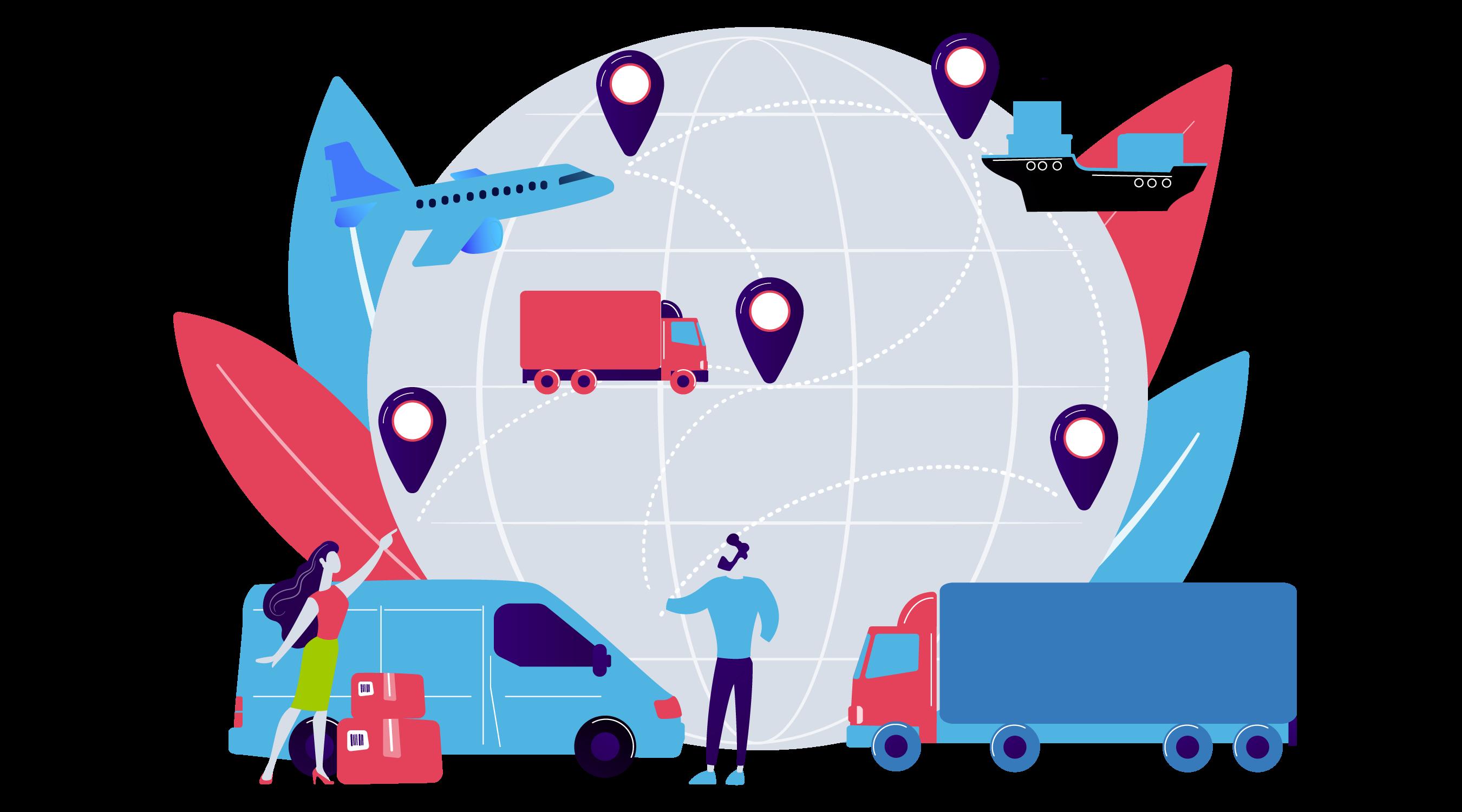 Aplikacja do zarządzenia transportem intermodalnym