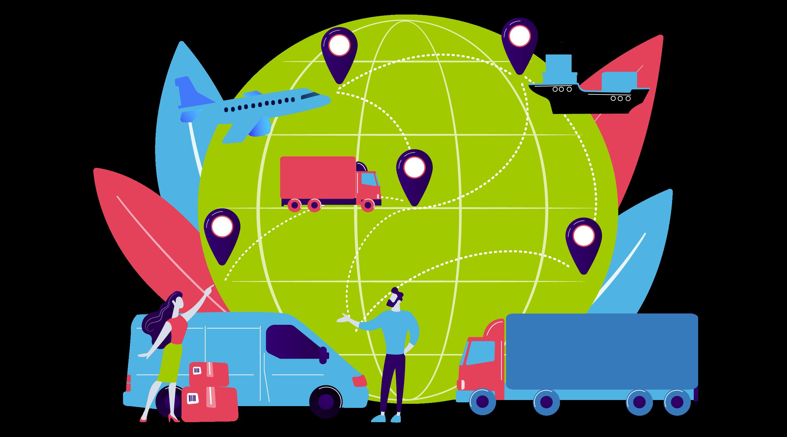 Platforma do zarządzania transportem morskim, lotniczym i lądowym